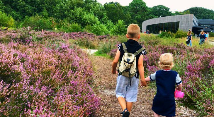 wandeling kinderen noord holland