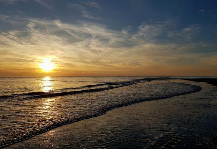 zonsondergang egmond